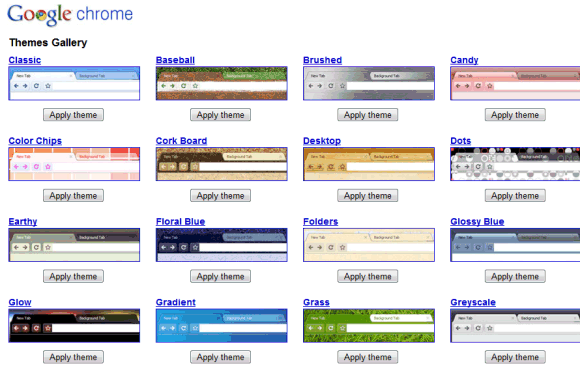Chrome Themes Picture